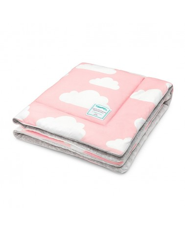 Takarók LC gyapjú takaró 80x100 cm rózsaszín - felhős kollekció