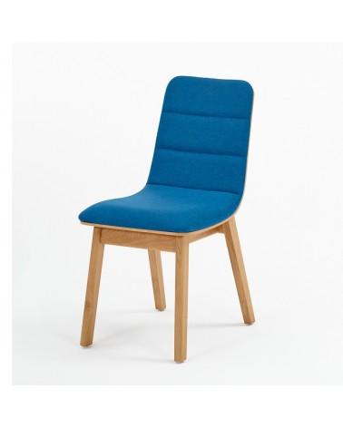 EG Dub I. minőségi kárpitozott fa szék