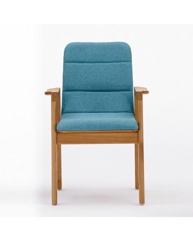 EG Dub B minőségi karfás kárpitozott fa szék
