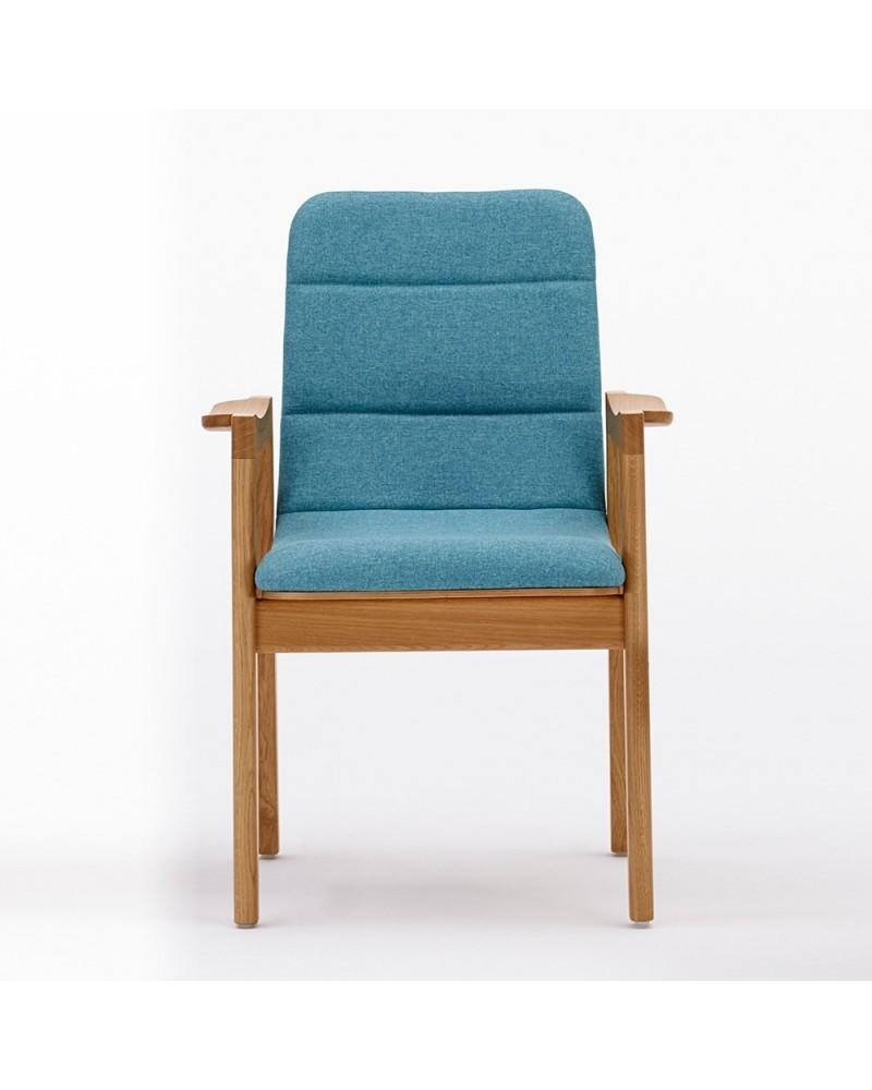 Szék PG Dub B minőségi karfás kárpitozott fa szék