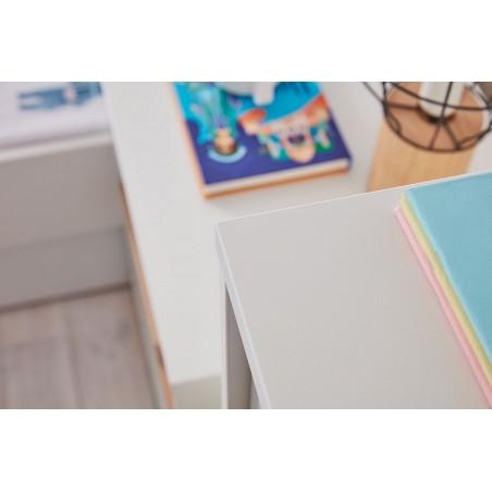 Gyerekszobák, ifjúsági szobák PI Snap modern gyerekszoba fehér színben