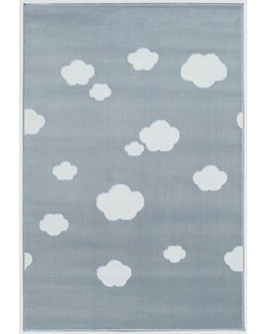 Gyerekszoba Szőnyegek LE Skycloud felhős, kék - fehér színű gyerekszőnyeg