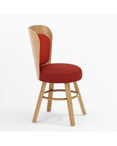 EG K2 II. minőségi kárpitozott fa szék