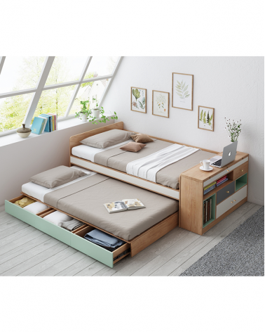 Kezdőlap FN Friends ágy és íróasztal szett
