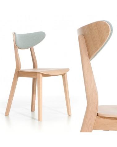 EG LOF II. minőségi kárpitozott fa szék