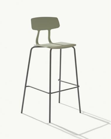 Kezdőlap MO Spire erős műanyag design bárszék