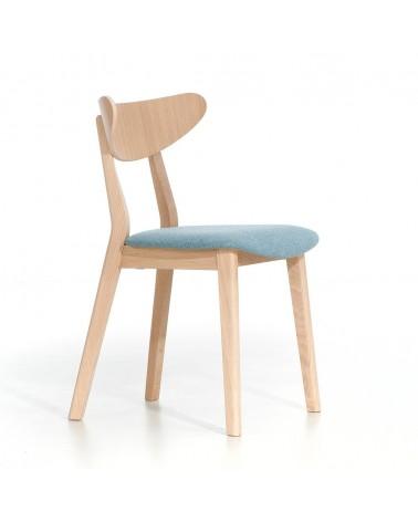 EG LOF III. minőségi kárpitozott fa szék