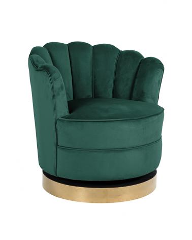 Kezdőlap NT Mila zöld bársony fotel