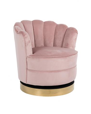 Kezdőlap NT Mila Pink bársony fotel