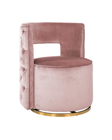 Kezdőlap NT Jamie pink bársony fotel