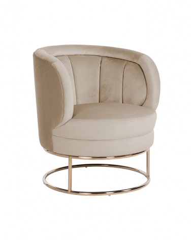Kezdőlap NT Felicia bézs bársony szék