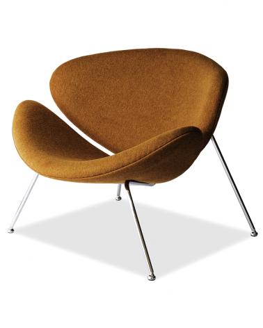 Kezdőlap LA Kris kényelmes fotel mustár színben