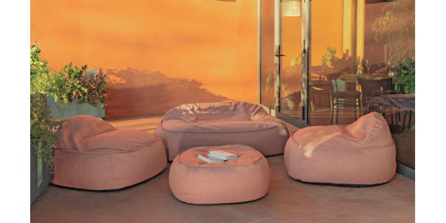 Kezdőlap NI Bob Kényelmes Kültéri Szett Narancs Színben