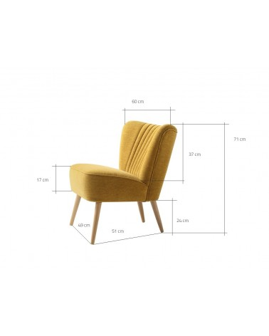 Kezdőlap RM Harry Y fotel választható kárpittal és pácolással