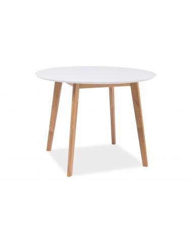 LA Mosso 100 cm étkezőasztal