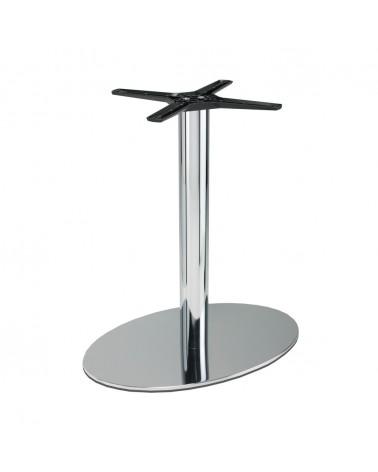 Asztalláb, asztallap, asztalbázis PE 501 Krómozott asztalbázis