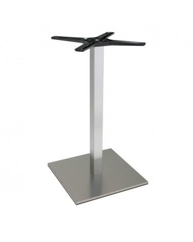 Asztalláb, asztallap, asztalbázis PE 500Q Inox asztalbázis