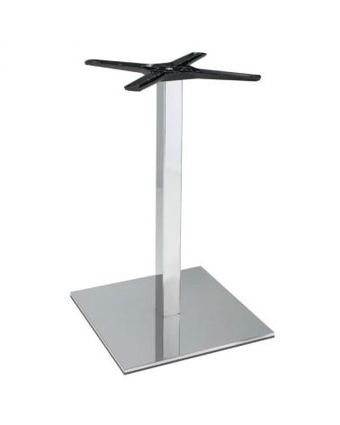 Asztalláb, asztallap, asztalbázis PE 500Q Krómozott asztalbázis