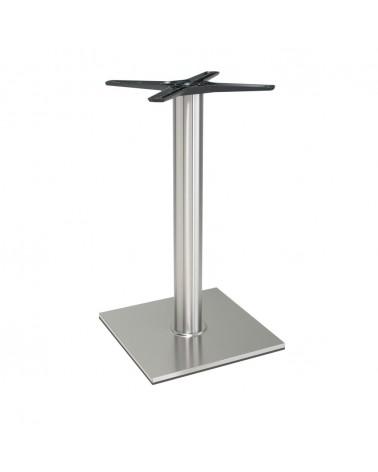 Asztalláb, asztallap, asztalbázis PE 400 Inox asztalbázis