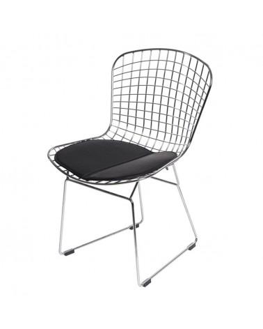 KD Diamnet krómozott fémvázas szék