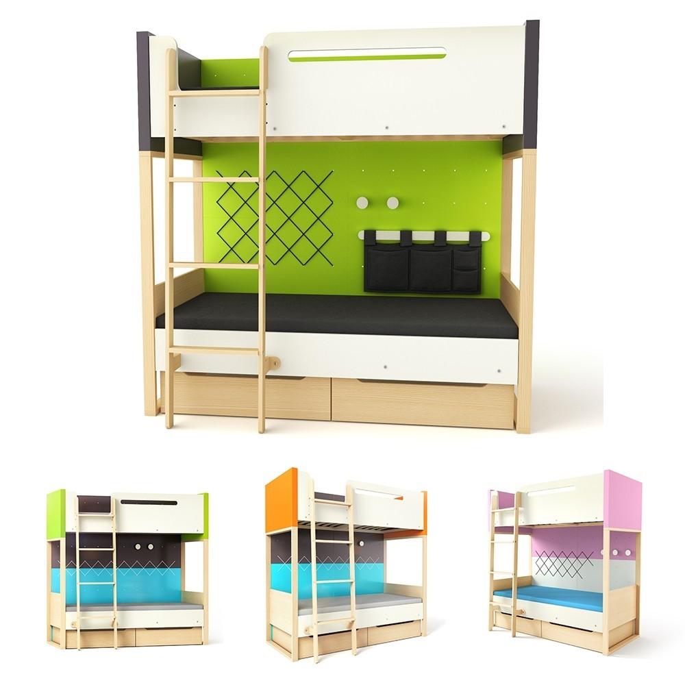 TI Plus emeleteságy gyerekbútor különböző színekben
