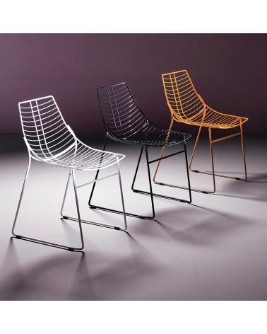 MO Net fém szék