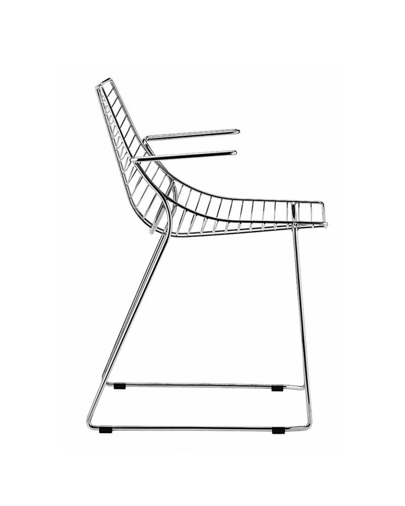 Szék MO Net karfás fém szék