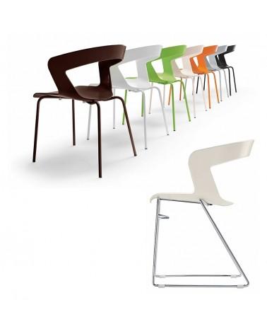 MO Ibis II. fémvázas műanyag szék