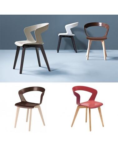 MO Ibis favázas műanyag szék