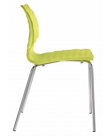 MO Uni fémvázas műanyag szék