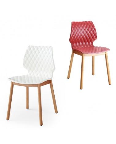 Szék MO Uni II. Favázas műanyag szék