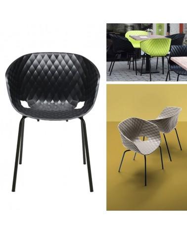 MO Uni-Ka Fémvázas műanyag szék