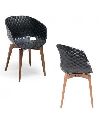 MO Uni-Ka Favázas műanyag szék