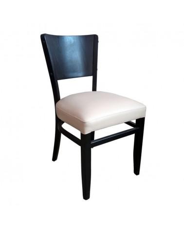 MC Sophia fa szék egyedi kárpitozással, pácolással