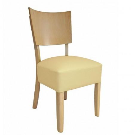 MC Nora fa szék egyedi kárpitozással, pácolással