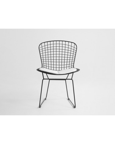 KD Diamnet fekete fémvázas szék