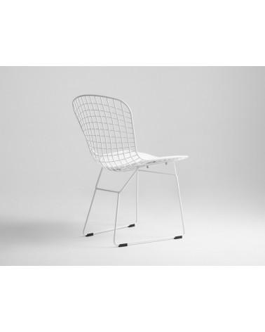 KD Diamnet fehér fémvázas szék