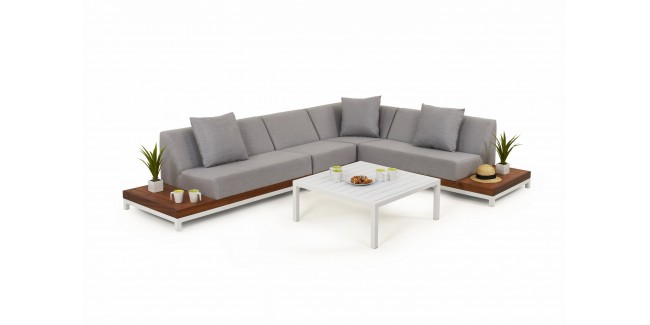 Kültéri szettek, lounge bútorok NI Ivory szett