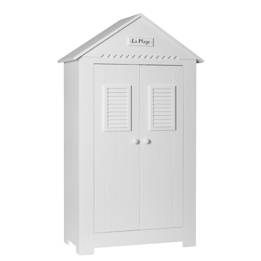 PI Marsylia 2 ajtós szekrény gyerekbútor fehér vagy vanília színben