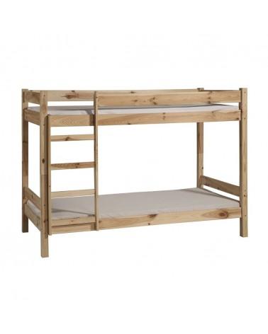 Gyerekbútorok PI Emeletes ágy 190 x 90 cm gyerekágy