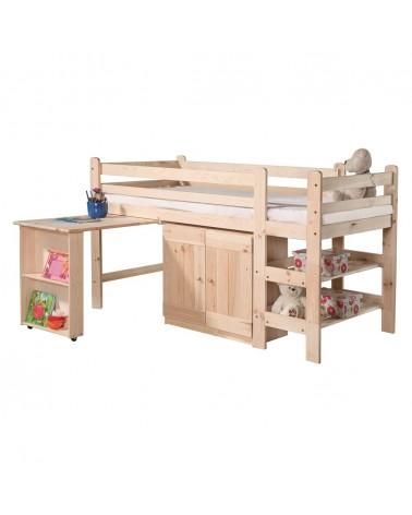Gyerekbútorok PI Emeletes ágy II. 190 x 90 cm gyerekágy