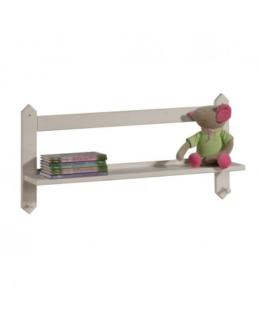 Gyerekbútorok PI Polc akasztóval gyerekbútor