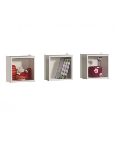 Gyerekbútorok PI 3 db -os Polc gyerekbútor