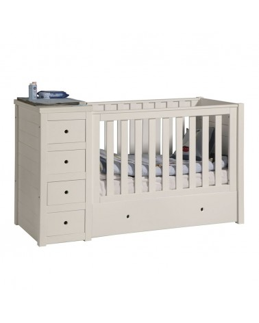 Gyerekbútorok PI Paso 120 x 60 cm babaágy gyerekbútor