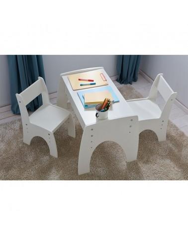 Gyerekbútorok PI Klips állítható magasságú asztal és szék szett gyerekbútor