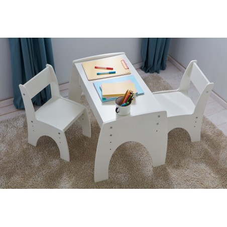 Gyerekbútorok PI Klips állítható magasságú asztal gyerekbútor
