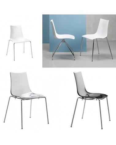 SC Zebra A4 antis. műanyag szék