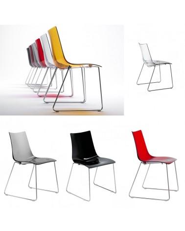 SC Zebra str műanyag szék