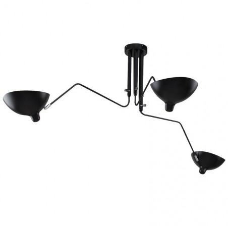 KH Replika Raven 3 ágú függeszték design lámpa