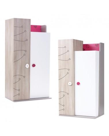 AM Sweet 2 ajtós ruhásszekrény gyerekbútor
